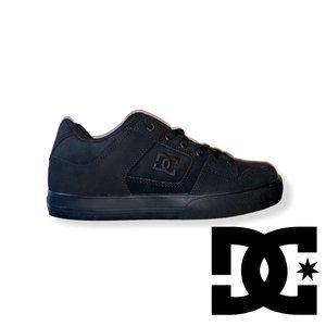DC Men's Pure Skate Shoes Black/Pirate Black 7.5 M